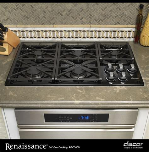 rgc365bng dacor renaissance 36 quot gas cooktop black