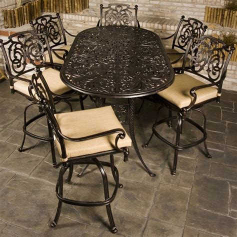 patio furniture bar height st augustine bar height