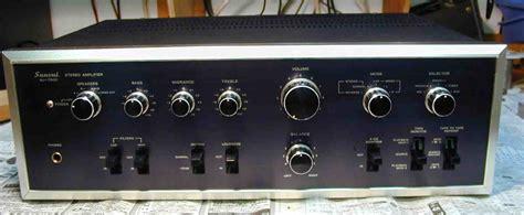 Power Lifier Sansui sansui au 7500