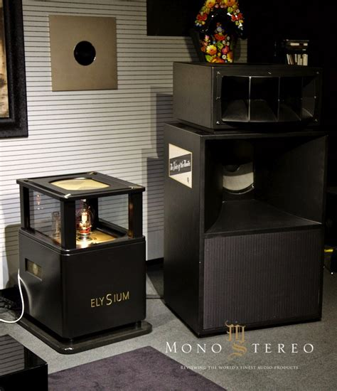 Speaker K One Sw 280 Mono Stereo System T1910 trafomatic audio elysium power lifier part one mono stereo