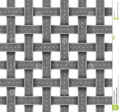 grid pattern of streets roads and street pattern royalty free stock photos image