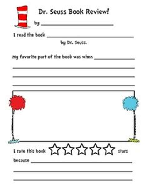 dr seuss book review template book review on study guides book review