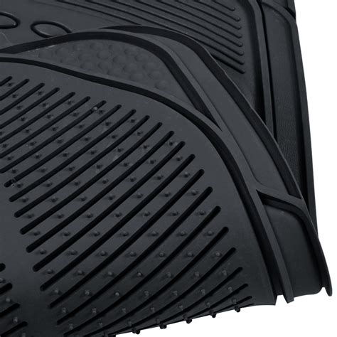 Custom Rubber Floor Mats For Trucks by Car Rubber Floor Mats Car Suv Truck Black All Weather