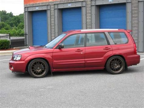 orange subaru forester 18x8 5 rota svn full royal sports bronze 255 35 18 dunlop