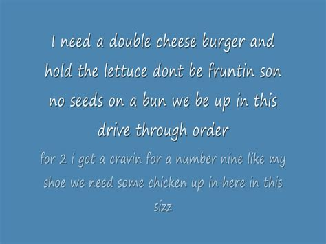 rap lyrics mcdonalds rap lyrics
