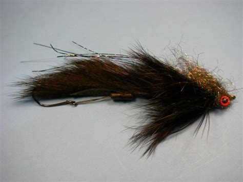 swing fly rabbit strip leech pattern and how to tie current works