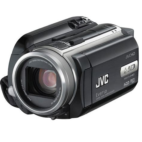 Jvc 2007 High Definition Everio Camcorder by Jvc Gz Hd30 Everio High Definition Camcorder Gz Hd30us B H