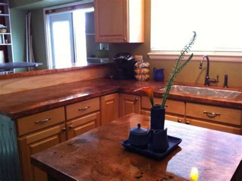 Diy Copper Countertop by Copper Countertops Diy For The Home