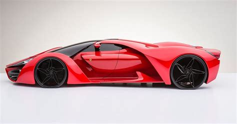 future ferrari supercar ferrari f80 sci fi supercar concept arrives from another