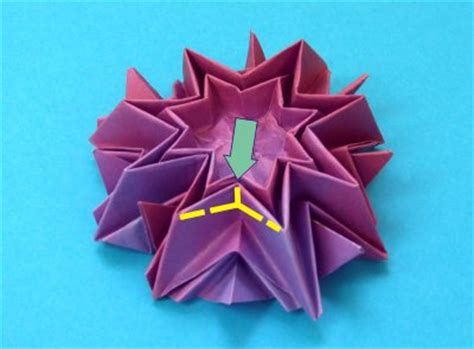 Origami Dahlia - joost langeveld origami page