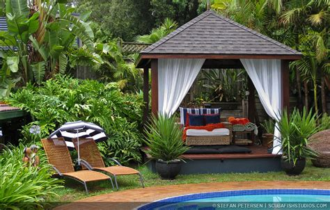 bali backyard ideas tropische aziatische bali tuin tropical asian