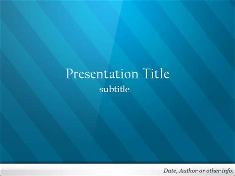 free blue powerpoint template dynamic guru