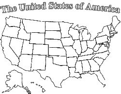 map usa drawing maps us map line drawing