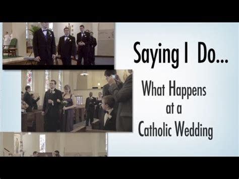 Wedding At Cana Usccb by Saying I Do What Happens At A Catholic Wedding