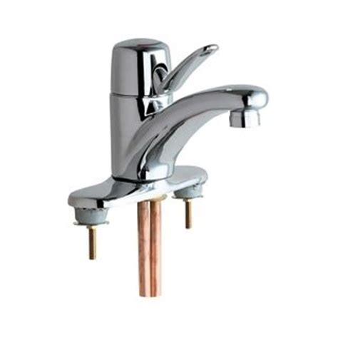 Chicago Bathroom Faucets by Chicago Faucets 2200 4e39vpabcp Polished Chrome Centerset