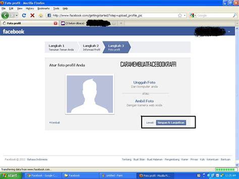 membuat facebook dari hp raffi iskandar blog cara membuat facebook