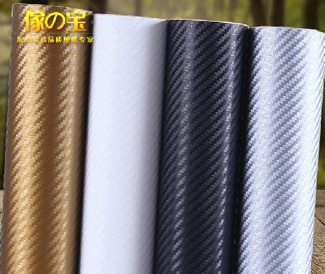 Countertop Adhesive Paper by 63cmx5m Roll Carbon Fiber Thickening Kitchen Cabinet