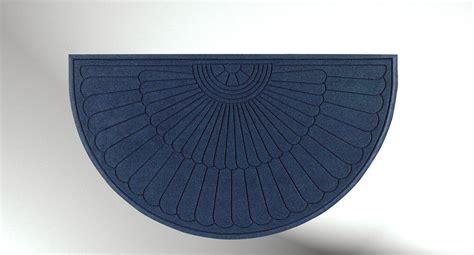Grand Mat Design by Waterhog Eco Grand Premier Half Oval Floor Mat Systems