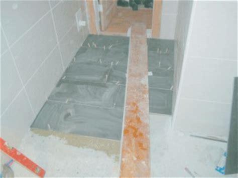 estrich im bad erneuern 187 fu 223 boden erneuern altbau