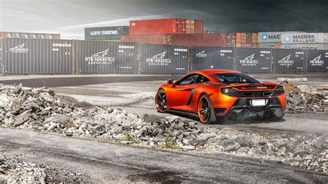 orange mclaren wallpaper vorsteiner mclaren mp4 vx volcano orange 3 wallpaper hd
