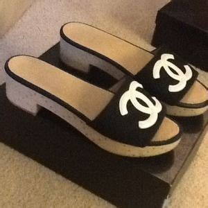 Chanel Sandal 009 2 chanel shoes real authentic sandals poshmark