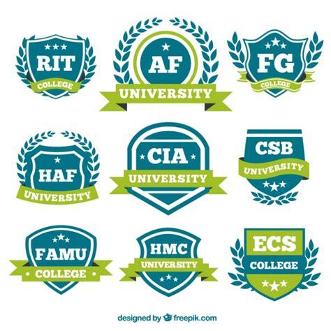 imagenes logotipos escolares logotipos con lazos verdes para la universidad descargar