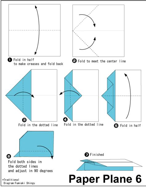 paper plane 6 easy origami for