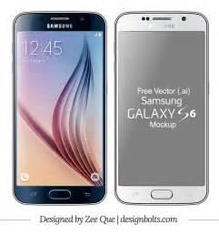 free vector samsung galaxy s6 amp edge mockup in ai format
