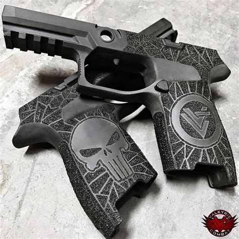 Wooowwexclusive Custom The Punisher 1 Limited Edition valkyrie combat custom sig p320 lower punisher limited