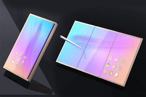 samsung galaxy x folding phone tipped for 2018 launch slashgear