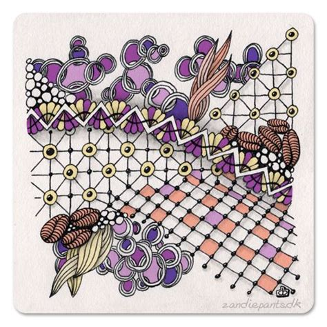 zentangle pattern enyshou 17 best images about zentangle art tangles quot d quot on