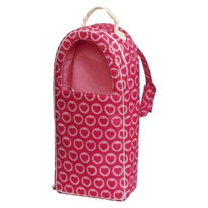 kmart doll carrier our generation doll carrier pink hearts for american