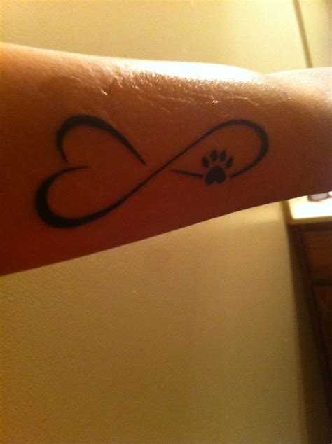 infinity paw print tattoo 17 best ideas about cat paw tattoos on