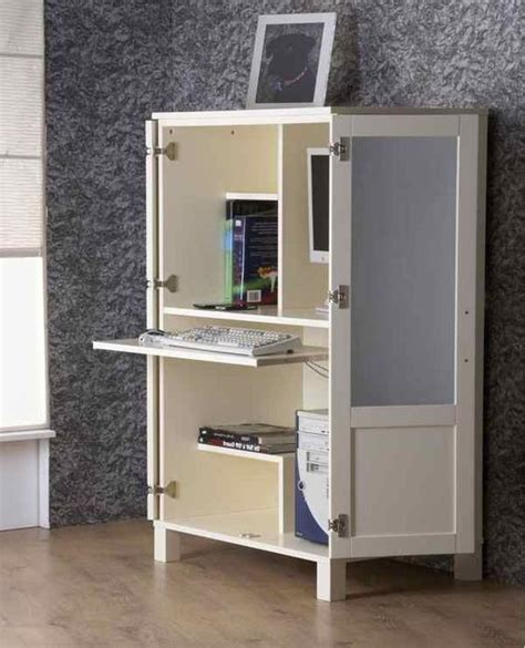 Ikea Computer Armoire 20 Hideaway Desk Ideas To Save Your Space Shelterness