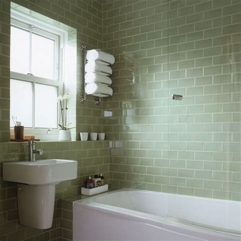 green and white tiles for bathroom pale green tiled bathroom vintage white lime bathroom