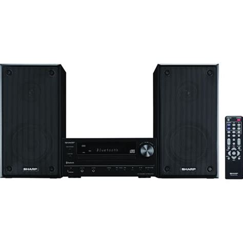 sharp xl hf102b reference executive shelf top audio system