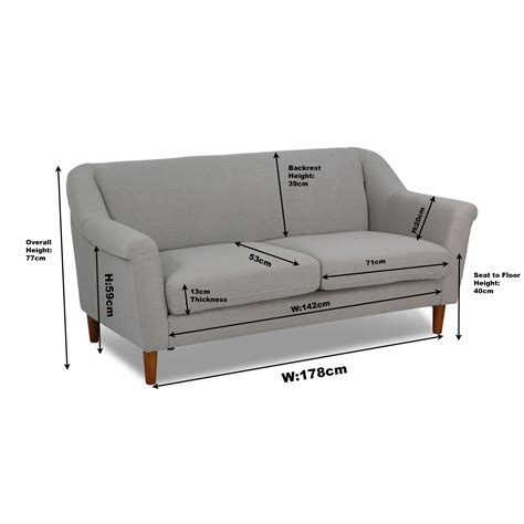 3 seater sofa dimensions dimensions of a 3 seater sofa gradschoolfairs com
