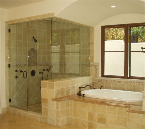 Bathroom Glass Shower Ideas Framed Vs Frameless Glass Shower Doors Options Ideas 4 Homes