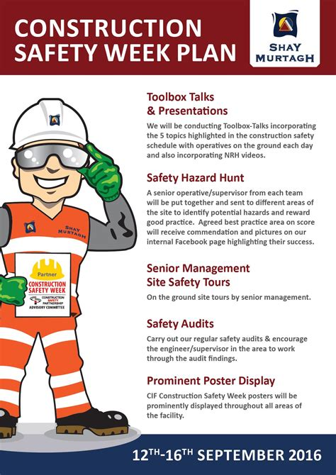 mewp safety toolbox talks safety construction industry federation