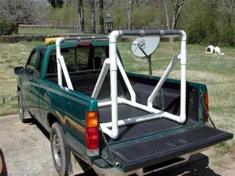 Diy Canoe Rack For Truck by Pvc Up Truck Rack For Canoe Or Kayak Such A