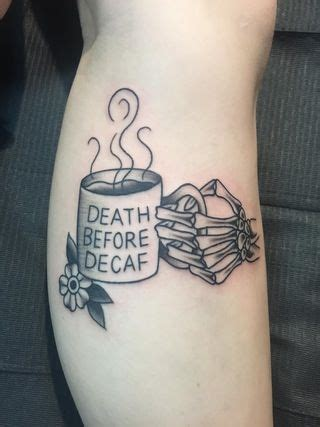 death before decaf tattoo 17 best ideas about circle tattoos on japan