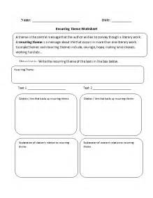 12 best images of worksheets finding the theme reading