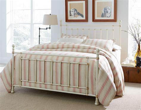 white metal bed bennington white full metal bed 81861 62 standard furniture
