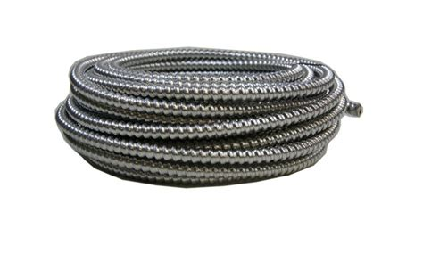 12 aluminum electrical wire southwire 50 ft 12 2 aluminum mc light armored cable