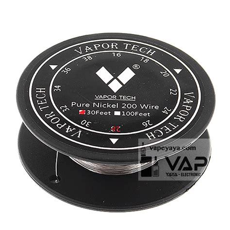 Coil Master Nickel Wire 28 Awg 30ft 100 Kawat Oten Untuk Vape Vapor vapor tech nickel 200 non resistance wire 30ft