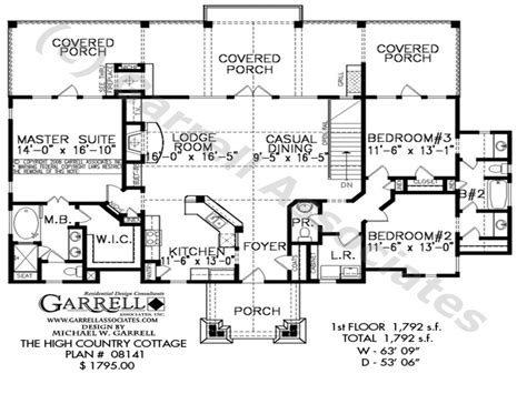 country cottage floor plans country cottage house plans small country house plans