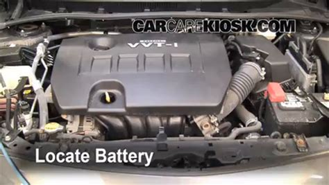 Battery For Toyota Corolla 2010 Battery Replacement 2009 2013 Toyota Corolla 2010