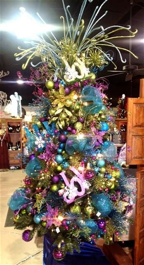 mardi gras themed christmas tree wow