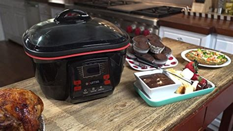 Fryer Multi 18 gourmia gmc780 18 in 1 multi cooker with lcd display fry steam bake roast saute