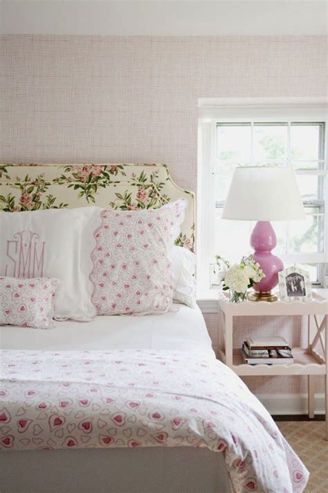Flower Headboard by Delicate Bedroom With One Of These 40 Feminine Headboards